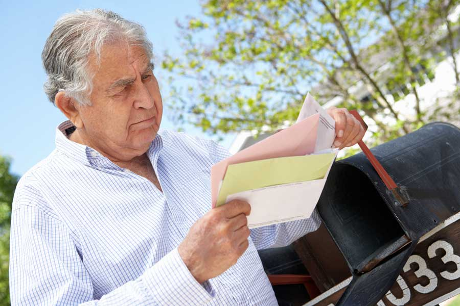 All billionaires should never get your mail at home