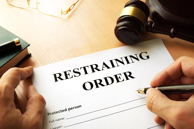The restraining order is just a piece of paper –  It can provide a trigger for an attack