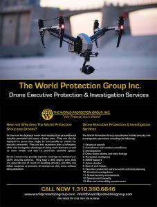 世界保护集团有限公司–美国领先的行政保护无人机公司